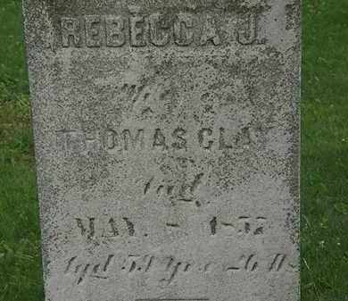 CLAY, THOMAS - Erie County, Ohio | THOMAS CLAY - Ohio Gravestone Photos