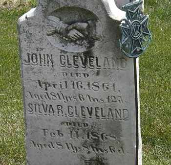 CLEVELAND, JOHN - Erie County, Ohio | JOHN CLEVELAND - Ohio Gravestone Photos