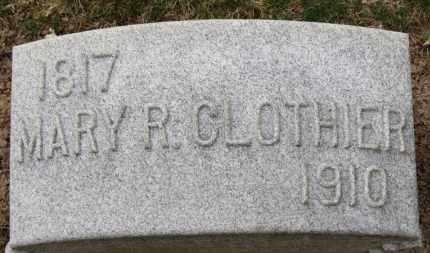 CLOTHIER, MARY R. - Erie County, Ohio   MARY R. CLOTHIER - Ohio Gravestone Photos