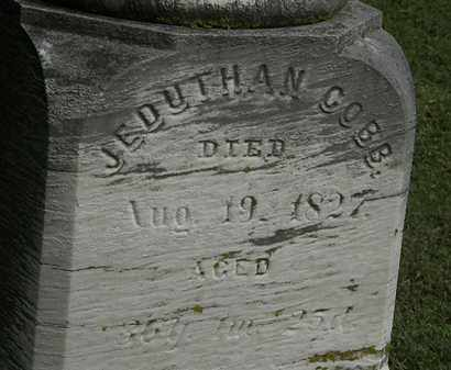 COBB, JEDUTHAN - Erie County, Ohio | JEDUTHAN COBB - Ohio Gravestone Photos