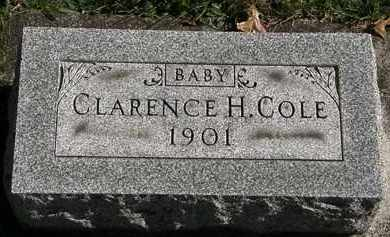 COLE, CLARENCE H. - Erie County, Ohio | CLARENCE H. COLE - Ohio Gravestone Photos