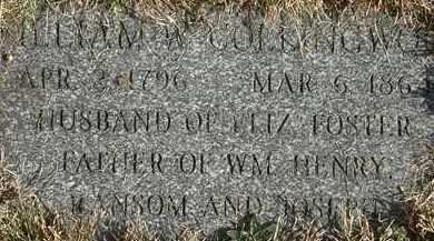 COLLINGWOOD, RANSOM - Erie County, Ohio   RANSOM COLLINGWOOD - Ohio Gravestone Photos