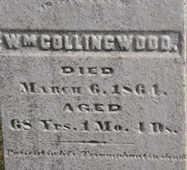 COLLINGWOOD, WM. - Erie County, Ohio | WM. COLLINGWOOD - Ohio Gravestone Photos