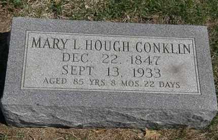 CONKLIN, MARY L. - Erie County, Ohio   MARY L. CONKLIN - Ohio Gravestone Photos