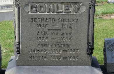 CONLEY, BERNARD - Erie County, Ohio | BERNARD CONLEY - Ohio Gravestone Photos