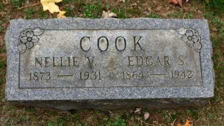 COOK, EDGAR S. - Erie County, Ohio   EDGAR S. COOK - Ohio Gravestone Photos