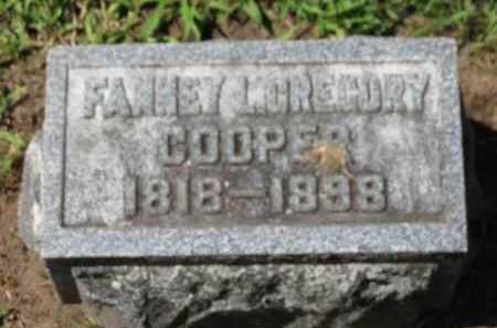 COOPER, FANNEY L. - Erie County, Ohio | FANNEY L. COOPER - Ohio Gravestone Photos