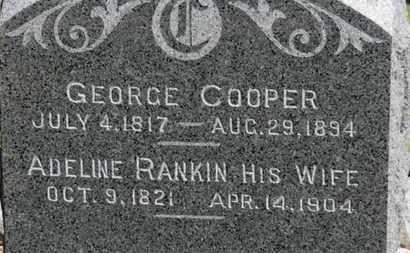COOPER, GEORGE - Erie County, Ohio | GEORGE COOPER - Ohio Gravestone Photos