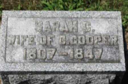 COOPER, SARAH C. - Erie County, Ohio | SARAH C. COOPER - Ohio Gravestone Photos