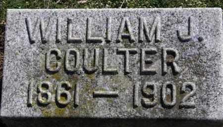 COULTER, WILLIAM J. - Erie County, Ohio | WILLIAM J. COULTER - Ohio Gravestone Photos