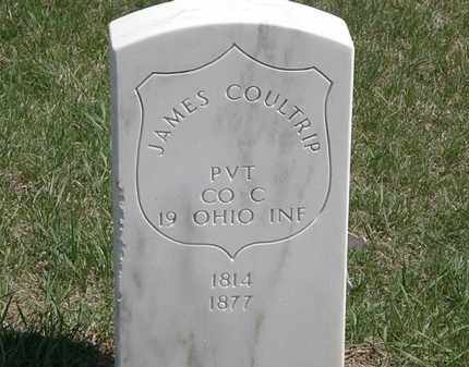 COULTRIP, JAMES - Erie County, Ohio | JAMES COULTRIP - Ohio Gravestone Photos