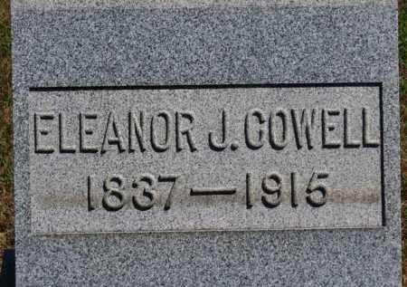 COWELL, ELEANOR J. - Erie County, Ohio | ELEANOR J. COWELL - Ohio Gravestone Photos
