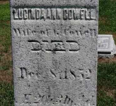 COWELL, LUCINDA ANN - Erie County, Ohio | LUCINDA ANN COWELL - Ohio Gravestone Photos