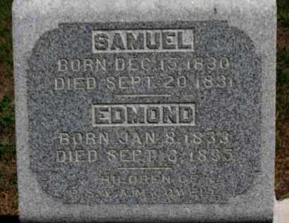 COWELL, SAMUEL - Erie County, Ohio | SAMUEL COWELL - Ohio Gravestone Photos