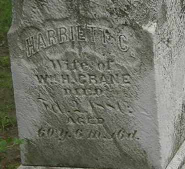 CRANE, HARRIETT C. - Erie County, Ohio   HARRIETT C. CRANE - Ohio Gravestone Photos