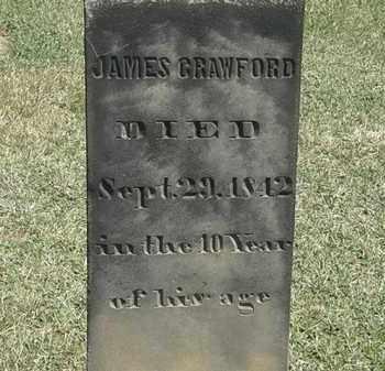 CRAWFORD, JAMES - Erie County, Ohio   JAMES CRAWFORD - Ohio Gravestone Photos