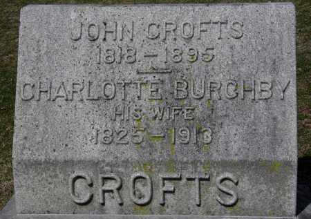 CROFTS, CHARLOTTE - Erie County, Ohio | CHARLOTTE CROFTS - Ohio Gravestone Photos