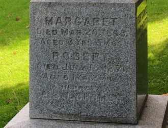 CROMBIE, MARGARET - Erie County, Ohio   MARGARET CROMBIE - Ohio Gravestone Photos