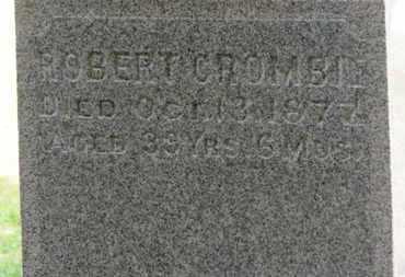 CROMBIE, ROBERT - Erie County, Ohio | ROBERT CROMBIE - Ohio Gravestone Photos