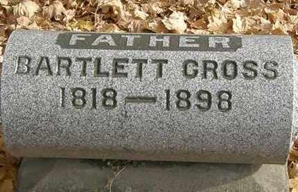 CROSS, BARTLETT - Erie County, Ohio   BARTLETT CROSS - Ohio Gravestone Photos