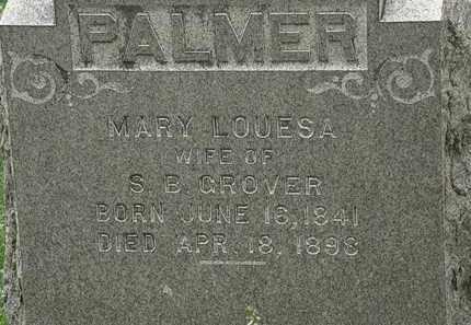 CROVER, MARY LOUESA - Erie County, Ohio | MARY LOUESA CROVER - Ohio Gravestone Photos