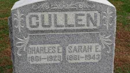 CULLEN, SARAH E. - Erie County, Ohio   SARAH E. CULLEN - Ohio Gravestone Photos