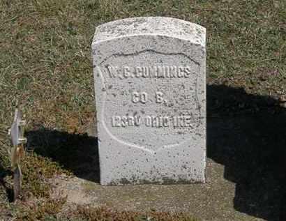 CUMMINGS, W. G. - Erie County, Ohio   W. G. CUMMINGS - Ohio Gravestone Photos