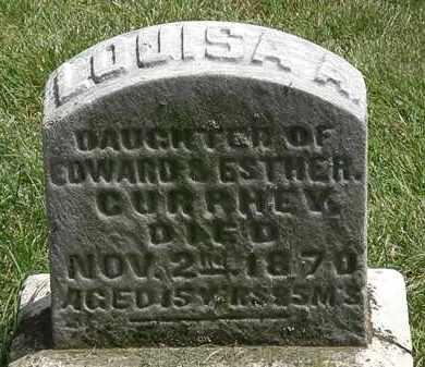 CURPHEY, LOUIAS A. - Erie County, Ohio   LOUIAS A. CURPHEY - Ohio Gravestone Photos