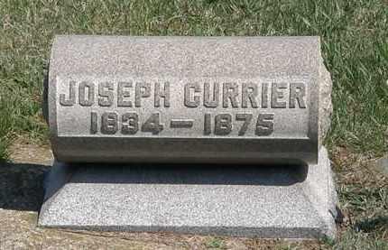 CURRIER, JOSEPH - Erie County, Ohio   JOSEPH CURRIER - Ohio Gravestone Photos