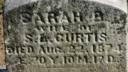 CURTIS, SARAH H. - Erie County, Ohio | SARAH H. CURTIS - Ohio Gravestone Photos