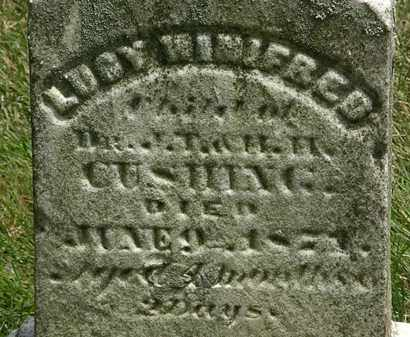 CUSHING, J.T. - Erie County, Ohio | J.T. CUSHING - Ohio Gravestone Photos