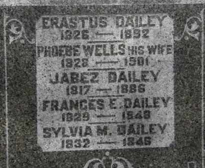DAILEY, ERASTUS - Erie County, Ohio | ERASTUS DAILEY - Ohio Gravestone Photos