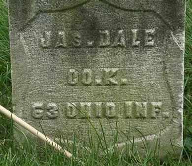 DALE, JAS. - Erie County, Ohio | JAS. DALE - Ohio Gravestone Photos