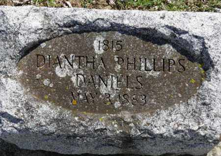 DANIELS, DIANTHA - Erie County, Ohio | DIANTHA DANIELS - Ohio Gravestone Photos