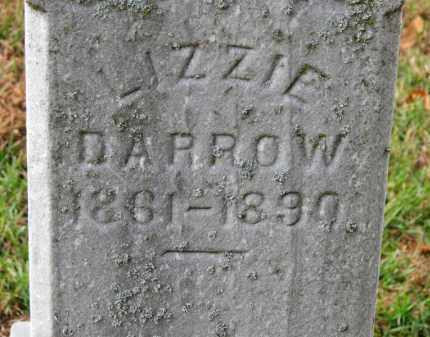 DARROW, LIZZIE - Erie County, Ohio | LIZZIE DARROW - Ohio Gravestone Photos