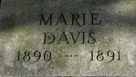 DAVIS, MARIE - Erie County, Ohio | MARIE DAVIS - Ohio Gravestone Photos