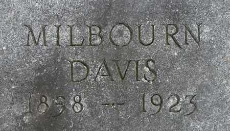 DAVIS, MILBOURN - Erie County, Ohio   MILBOURN DAVIS - Ohio Gravestone Photos