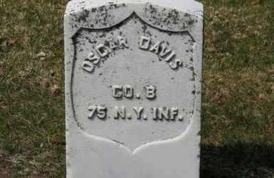 DAVIS, OSCAR - Erie County, Ohio   OSCAR DAVIS - Ohio Gravestone Photos