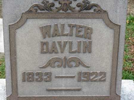 DAVLIN, WALTER - Erie County, Ohio   WALTER DAVLIN - Ohio Gravestone Photos