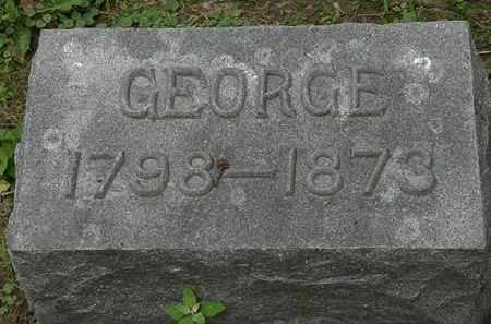 DECKER, GEORGE - Erie County, Ohio | GEORGE DECKER - Ohio Gravestone Photos