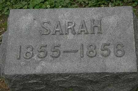 DECKER, SARAH - Erie County, Ohio   SARAH DECKER - Ohio Gravestone Photos