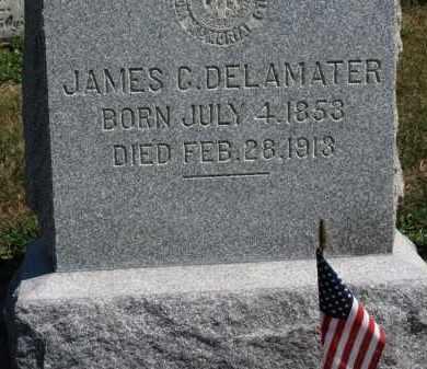 DELAMATER, JAMES E. - Erie County, Ohio | JAMES E. DELAMATER - Ohio Gravestone Photos