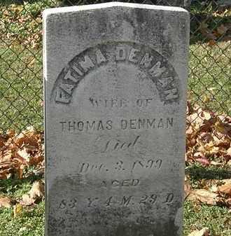 DENMAN, THOMAS - Erie County, Ohio | THOMAS DENMAN - Ohio Gravestone Photos