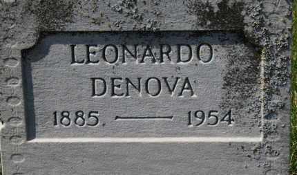 DENOVA, LEONARDO - Erie County, Ohio | LEONARDO DENOVA - Ohio Gravestone Photos