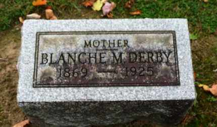 DERBY, BLANCHE - Erie County, Ohio | BLANCHE DERBY - Ohio Gravestone Photos