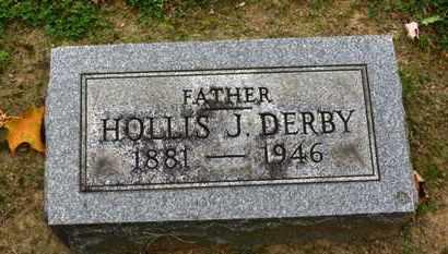DERBY, HOLLIS J. - Erie County, Ohio | HOLLIS J. DERBY - Ohio Gravestone Photos
