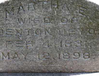 DEYO, MARTHA E. - Erie County, Ohio | MARTHA E. DEYO - Ohio Gravestone Photos