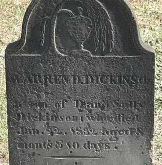 DICKINSON, WARREN D. - Erie County, Ohio   WARREN D. DICKINSON - Ohio Gravestone Photos