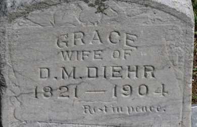 DIEHR, GRACE - Erie County, Ohio | GRACE DIEHR - Ohio Gravestone Photos