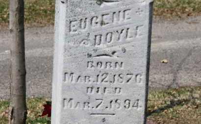 DOYLE, EUGENE - Erie County, Ohio | EUGENE DOYLE - Ohio Gravestone Photos